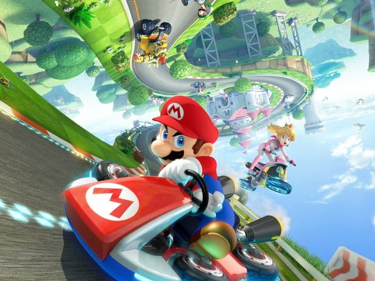 Drifting remains the name of the game in Mario Kart 8.