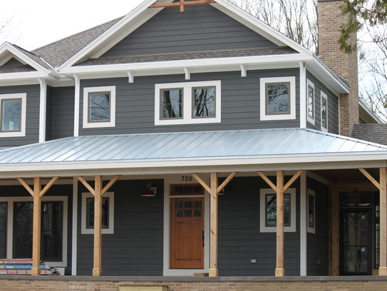 This newly built home is on the Open Door Elm Grove