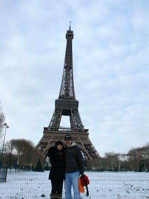 Sylvie Cohen visited the Eiffel Tower in Paris two years ago with her husband. Cohen, who lives in Scottsdale, is from Marseillan, France.
