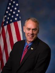 Secretary of Interior Ryan Zinke  Courtesy