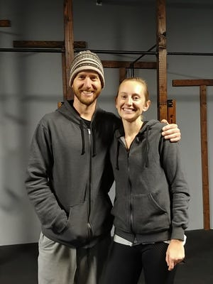 Matt and Erika Benti, owners of Persistent Hunters gym in Fort Collins.