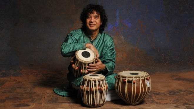 Tabla master Zakir Hussain will perform to Cornell on Friday.