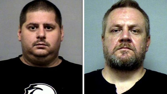 Michael Browning, left, Gregory Mathis, right.