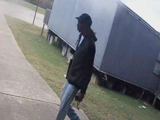 Police are seeking information on a man suspected of