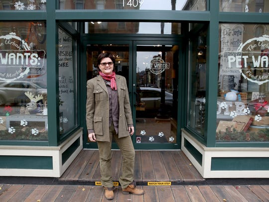 Michele Hobbs, owner of Pet Wants in Over-the-Rhine.