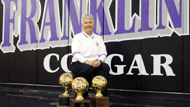 Franklin volleyball coach Flo Valdez has earned more than 1,000 in her career.