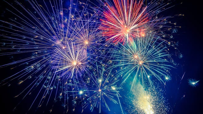Hearing loss and fireworks.
