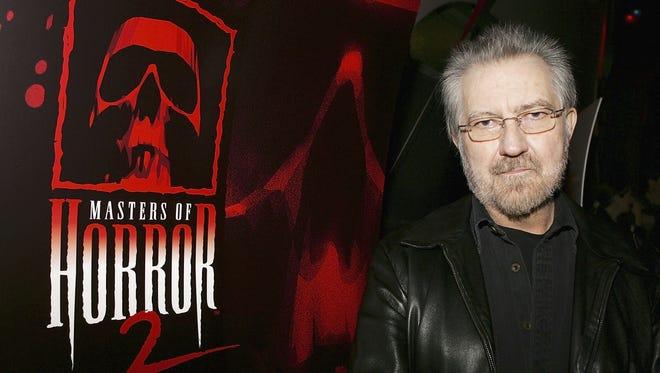 Director Tobe Hooper, seen here in 2006, has died.