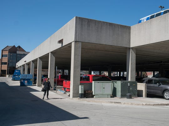Repairs to Plymouth's central parking deck are done.