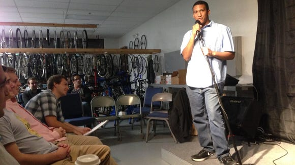 Wilmington comedian Brandon Jackson will be among the 11 comedians performing at the first Friday Night Comedy Series this weekend at Spaceboy Clothing.