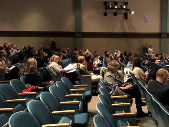 Educators attend mental health series