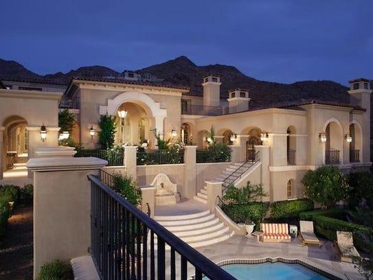 Luxury Homes Phoenix Suns Forward Buys M Paradise Valley Home - Luxury homes in scottsdale az