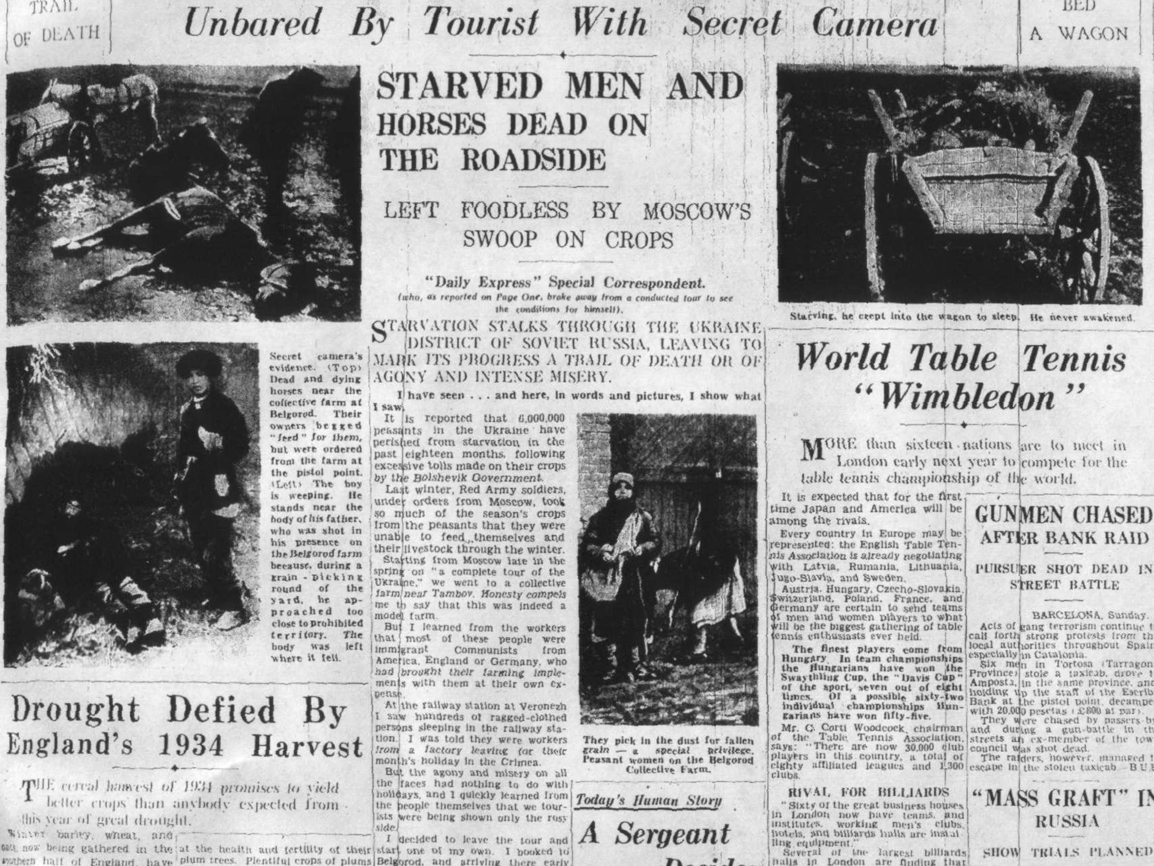Daily Express, Aug. 6, 1934.