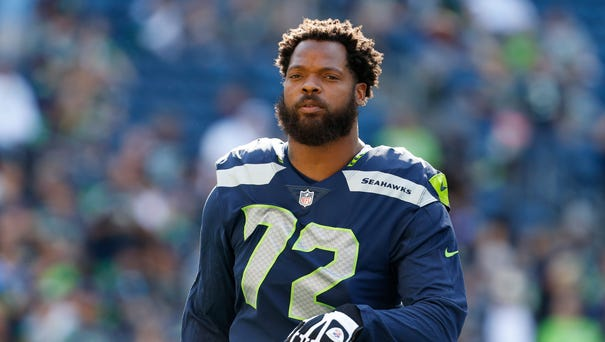 DE Michael Bennett: Traded from Seahawks to Eagles