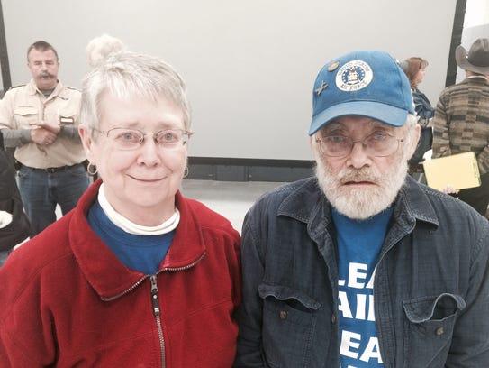 Saratoga residents Helen and Leroy Donahue