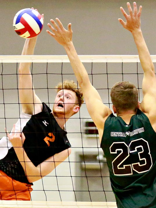 Central York vs. Central Dauphin D3 3A boys Champ vball