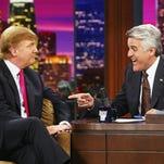 Trump sounds like he belongs on late-night TV: Column