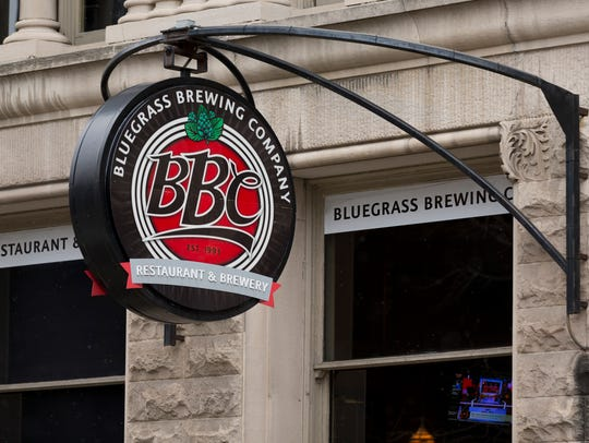 Exterior photos of the downtown location of Bluegrass