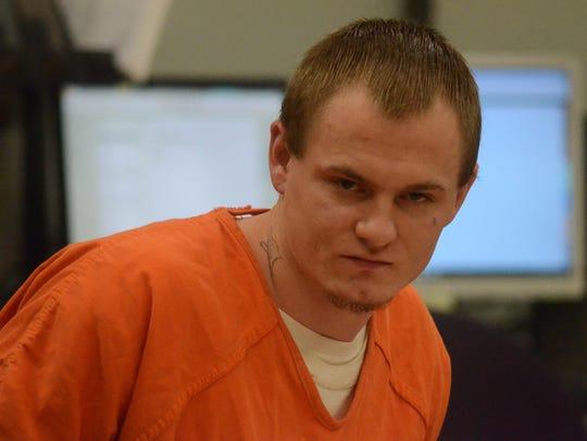 David Hull at his Wednesday hearing.