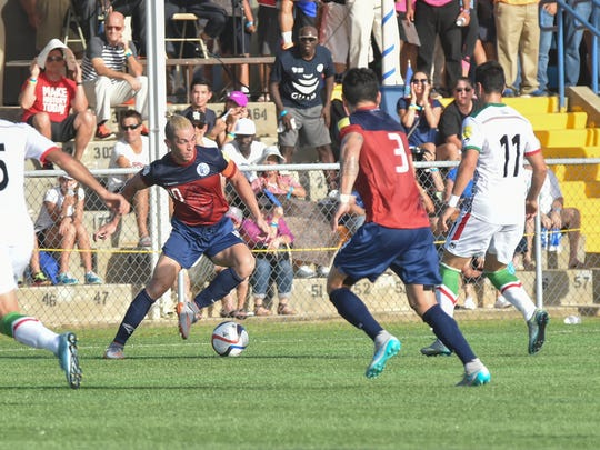 The Guam Matao Men's National Soccer Team played division