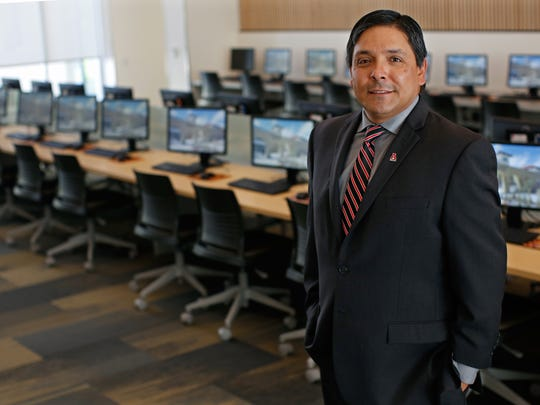 Anthony Marin, director of the New Mexico State University's Student Success Center.