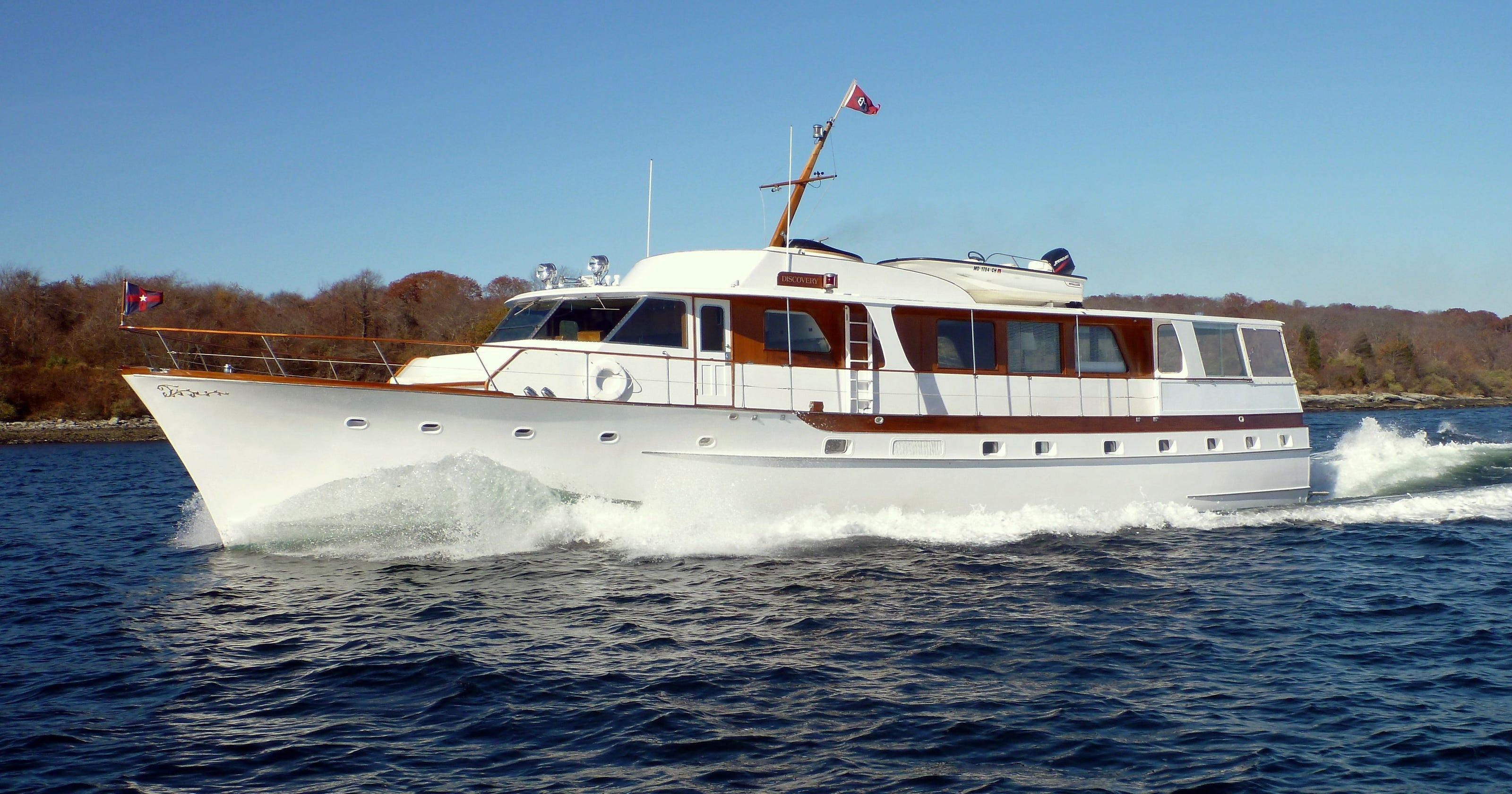 Dream Boats The Vintage Appeal Of Trumpy Yachts
