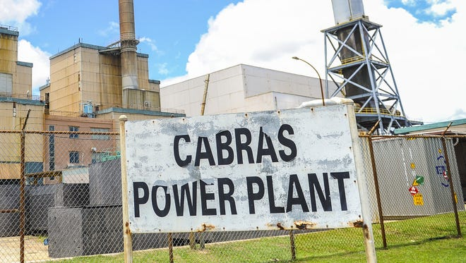 The Guam Power Authority Cabras Power Plant in Piti on Friday, July 31.