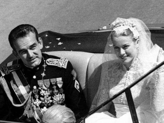 One of the most famous royal weddings was that of American actress Grace Kelly to Prince Rainier III  in the Monaco Cathedral, South of France in 1956. Through her marriage to Rainier, she would become Her Serene Highness Princess Grace of Monaco.