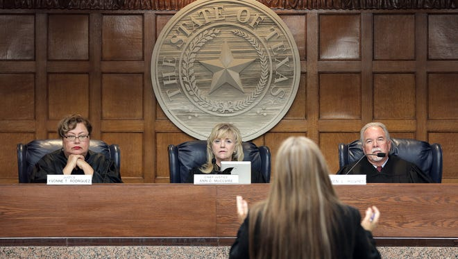 A growing backlog at the Eighth Court of Appeals in El Paso prompted the Texas Supreme Court to transfer more than 80 cases to different courts of appeals in the state.