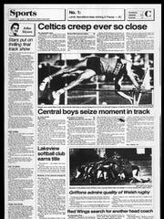 Battle Creek Sports History: Week of June 2, 1986