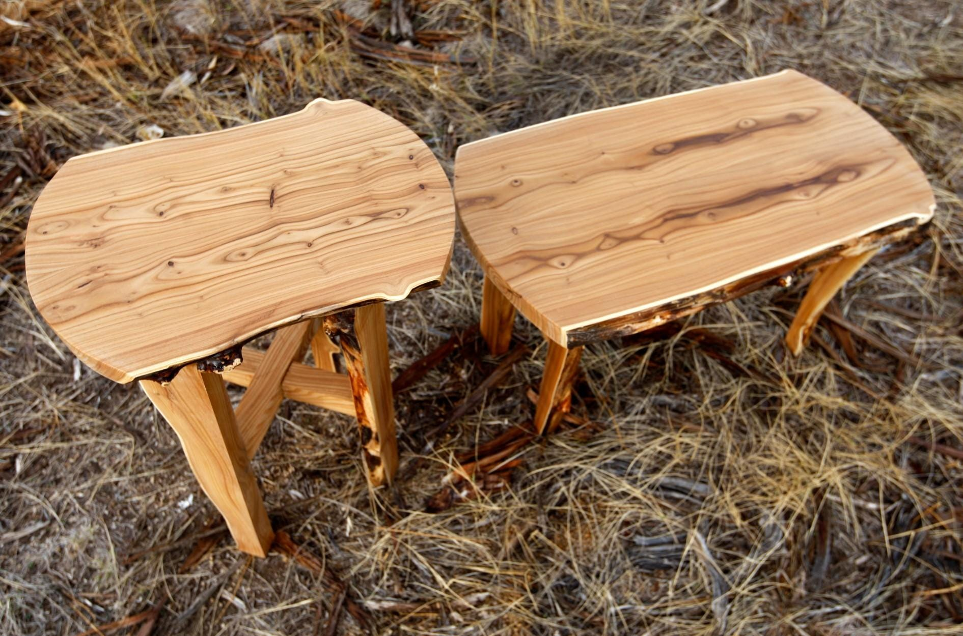 Small Tables Made Of Russian Olive Wood By Andrew Bishop