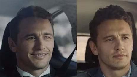 James Franco is featured in a new Scion ad