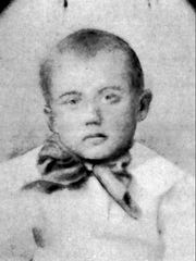 This is an undated childhood photo of Strom Thurmond,