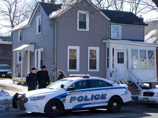 Police shooting Madison, Wis.