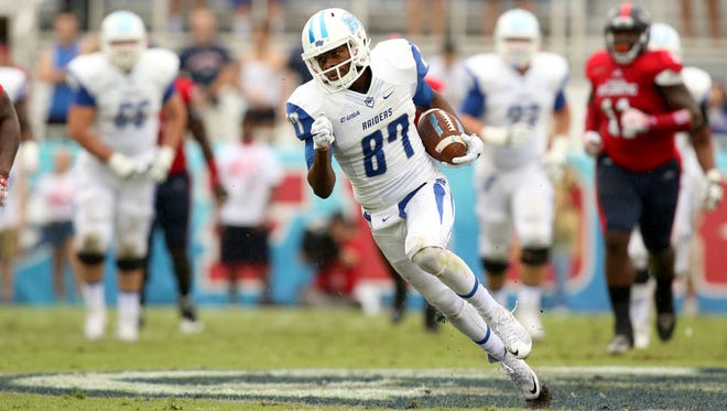 Wide receiver Richie James (87) returns as one of Conference USA's top playmakers on the offensive side of the ball.
