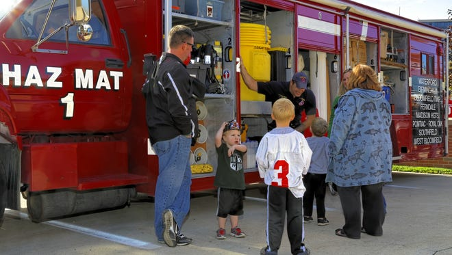 Firefighters will be on hand for the Birmingham Fire Department's annual open house Oct. 8.