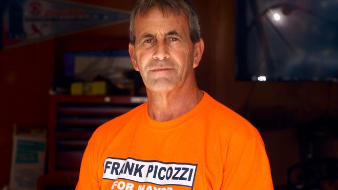 Independent challenger Frank J. Picozzi  is in the race for Warwick mayor with incumbent Democrat Joseph J. Solomon.