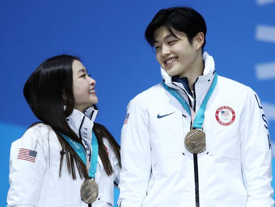 Medal Ceremony - Winter Olympics Day 11