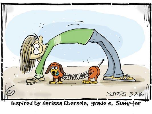Narissa Ebersole grade 5 Sumpter