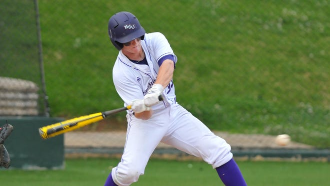 Cort Brinson hit a solo home run for Northwestern State on Sunday.