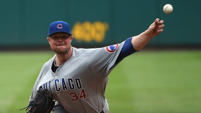 Jon Lester improved to 7-0 with a 1.02 ERA in his last nine starts.