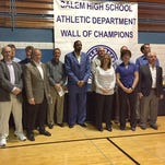 Salem Wall of Champs toasts 2nd class