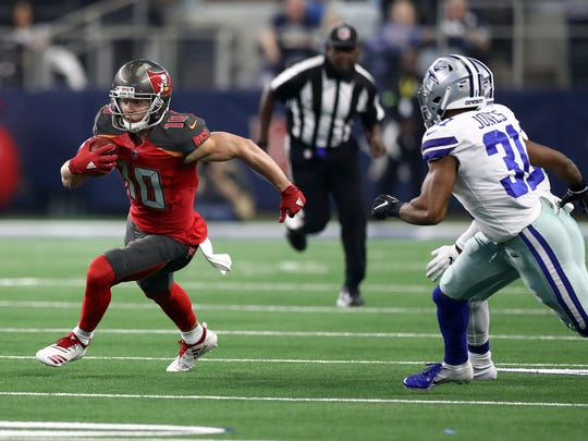 The Buccaneers' Adam Humphries had 666 receiving yards out of the slot last season.
