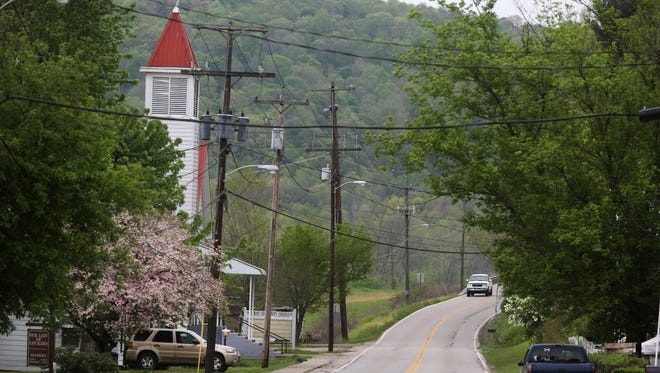 """The small town of Otway was the home of Hannah Gilley, 20. Gilley and seven members of the Rhoden family, were killed April 22 in Pike County. Gilley was the fianceeŽ of Clarence """"Frankie"""" Rhoden, who was also killed. They had a six-month old baby, who was was not harmed. The crime scene spans four homes."""