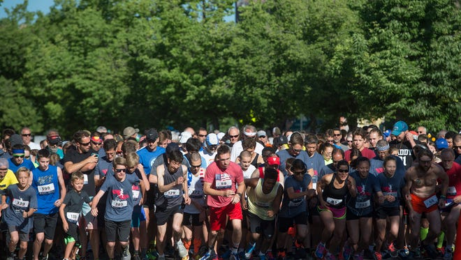 This year's Father's Day 5K takes place Sunday in Old Town.