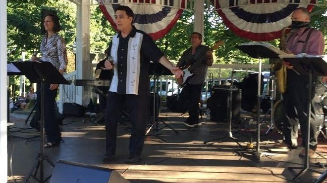 The Rico Barr Band featuring JJR Horns  will perform at the North Hampton Bandstand on Saturday, Sept. 12.