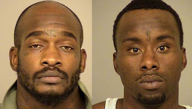 Willie Christer, 32, and Kevin Davis, 29, both of Bakersfield, were arrested and booked into Ventura County jail on suspicion of felony conspiracy to commit a crime and felony attempted burglary.