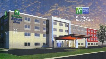 The Germantown Holiday Inn Express would expand from two stories to four stories under a proposal approved by the village Plan Commission.