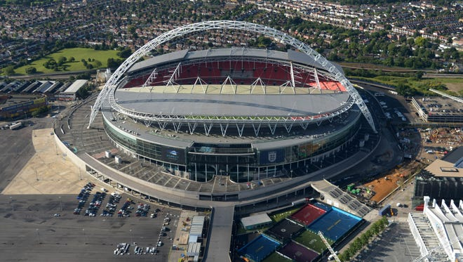 Wembley Stadium hosted the 2011 and 2013 Champions League finals.