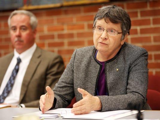 Paula Radich, the interim Salem-Keizer School superintendent